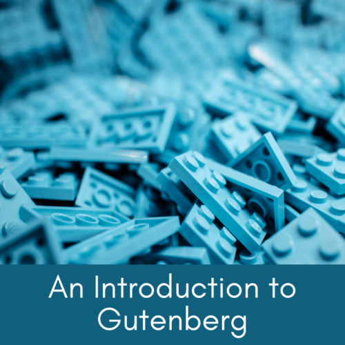 An Introduction to Gutenberg